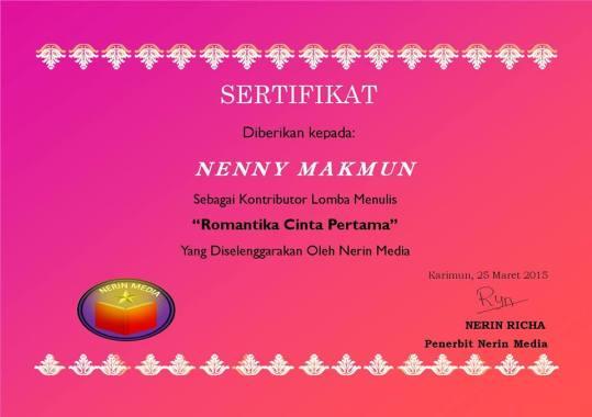 135.sertifikat romantika cinta pertama_nerin media publisher