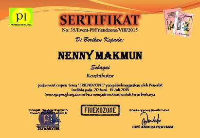 170.sertifikat friendzone