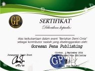 sertifikat bertahan demi cinta