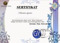 sertifikat cerminan negeriku