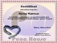 sertifikat cinta dibalik hujan