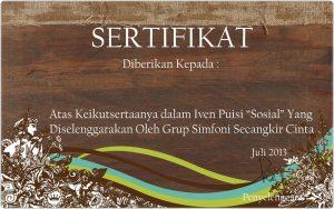 sertifikat even puisi sosial_group simfoni secangkir cinta