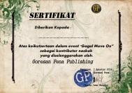 sertifikat gagal move on
