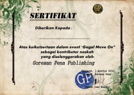 sertifikat gagal move on