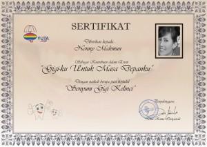sertifikat gigiku