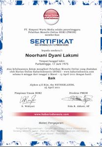sertifikat hoki