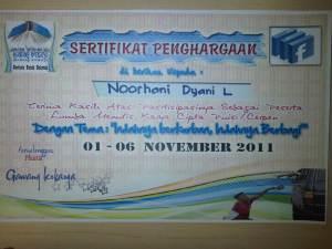 sertifikat kurban