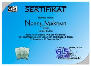 sertifikat me dan matematika