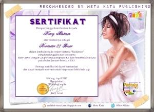 sertifikat my secreet lover