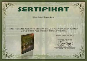 sertifikat no limit