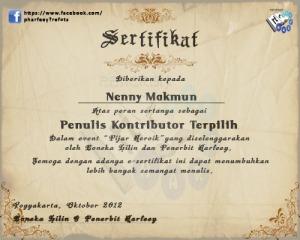 sertifikat pijar heroik