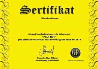 sertifikat pusi mei