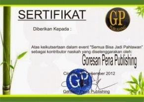 sertifikat semua bisa jadi pahlawan