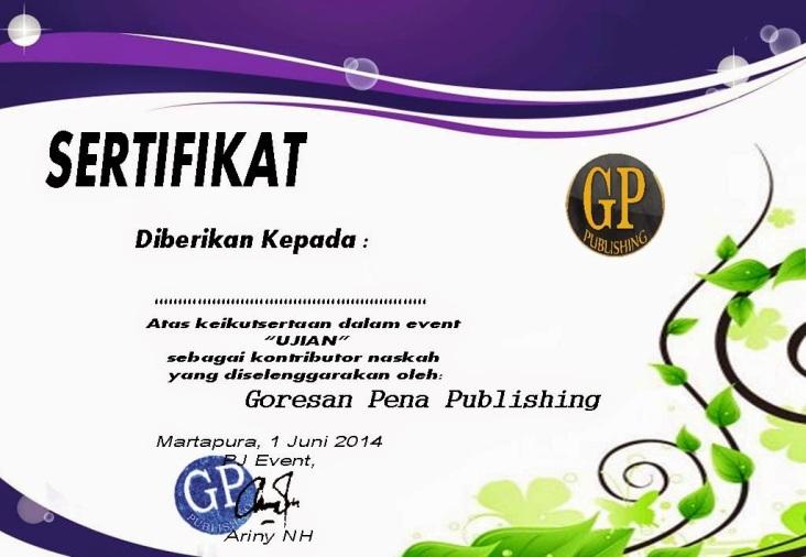 sertifikat ujian
