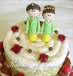 Wedding Tart Boneka