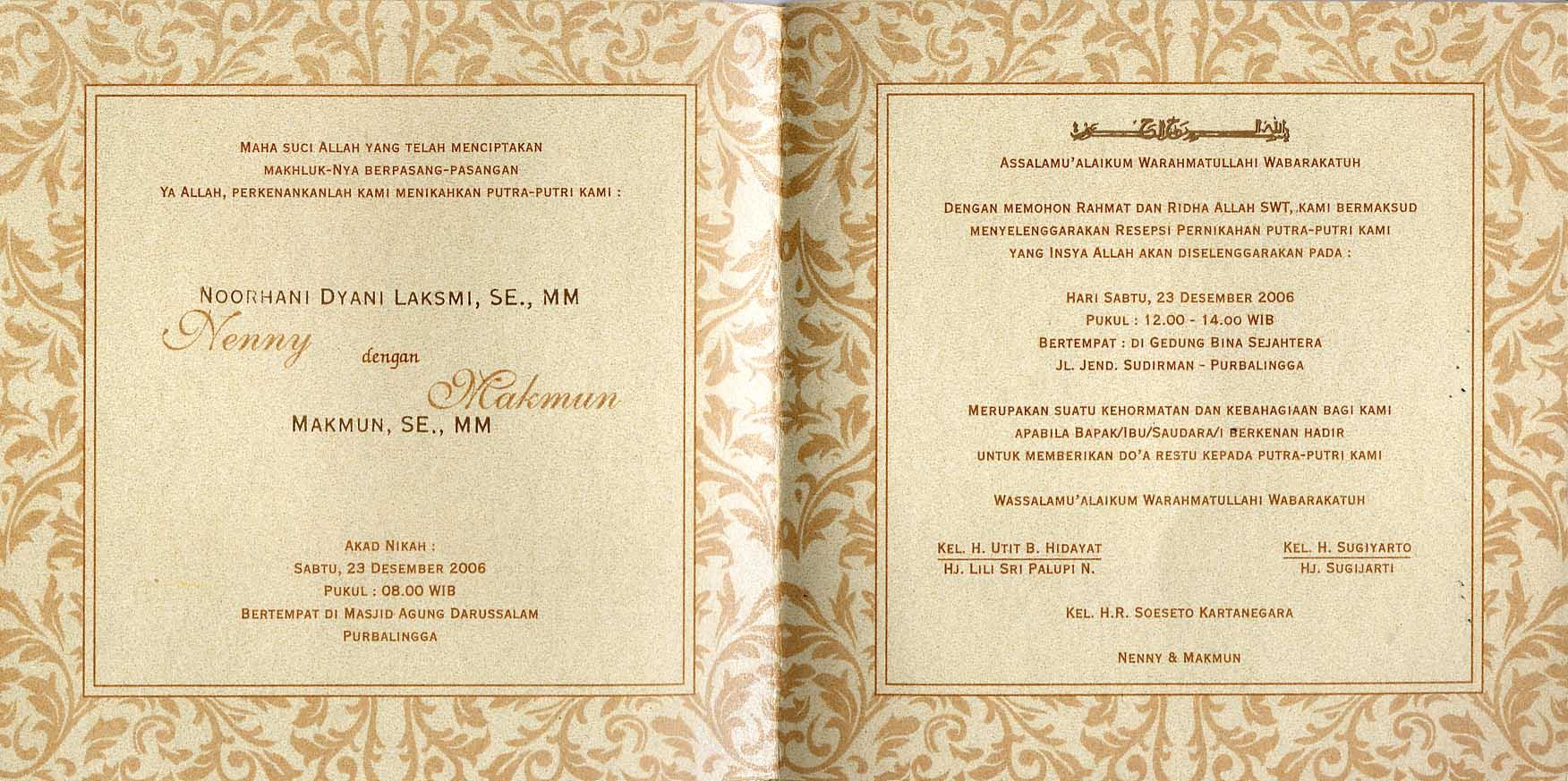 Wedding Invitation Jakarta as good invitations template