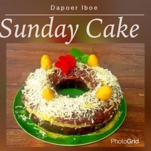 dapoeriboe_sunday cake (banana cake)