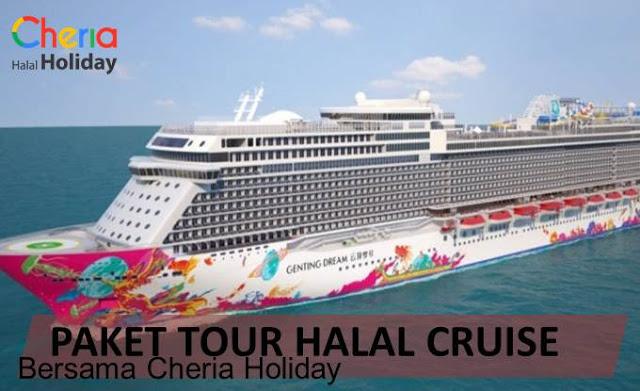 Paket Halal Tour Cruise dengan Cheria Holiday
